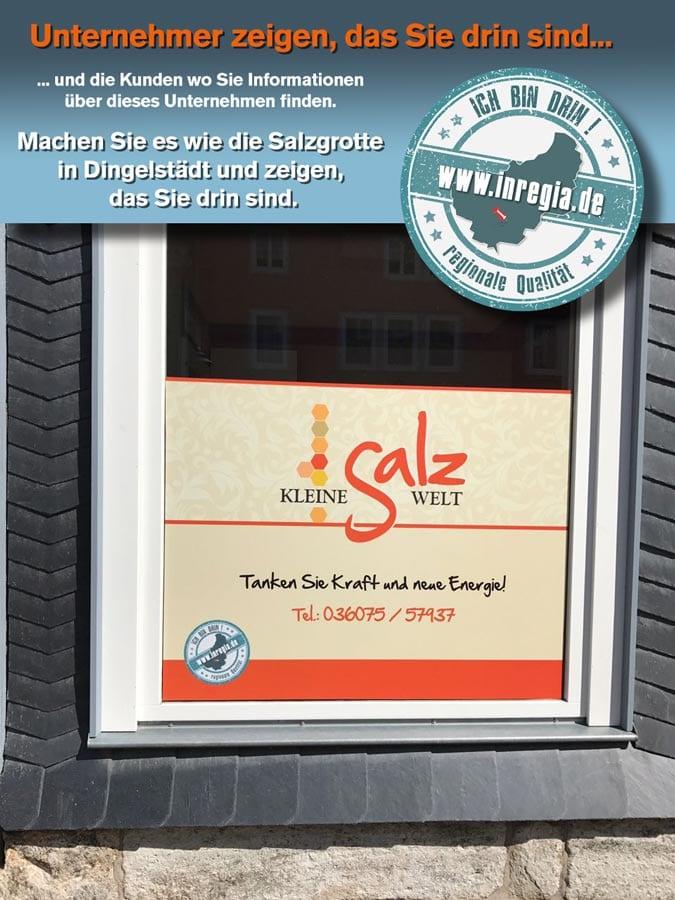 Eichsfelder Unternehmen inregia salzgrotte Eichsfeld dingelstädt