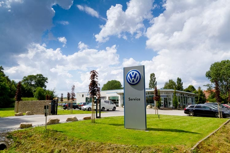 Unternehmen im Eichsfeld Autohaus Iffland Eichsfelder Autohaus Dingelstädt vw Werkstatt Eichsfeld