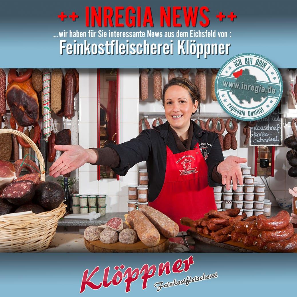 eichsfelder Wurst kaufen Feinkostfleischerei Klöppner Eichsfelder Feldgiecker Stracke Heiligenstadt Wurst eichsfeld