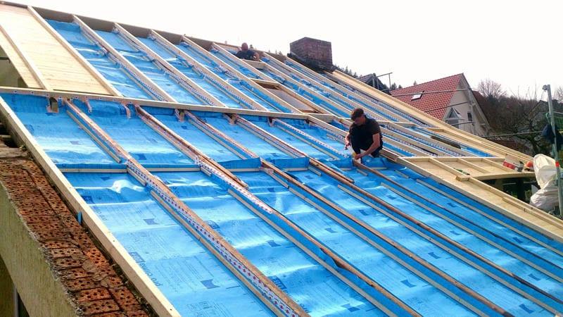 Dachdecker eichsfeld Bauklempner Einblasdämmung Holzbau Dachausbau Eichsfelder Dachdecker Nolte