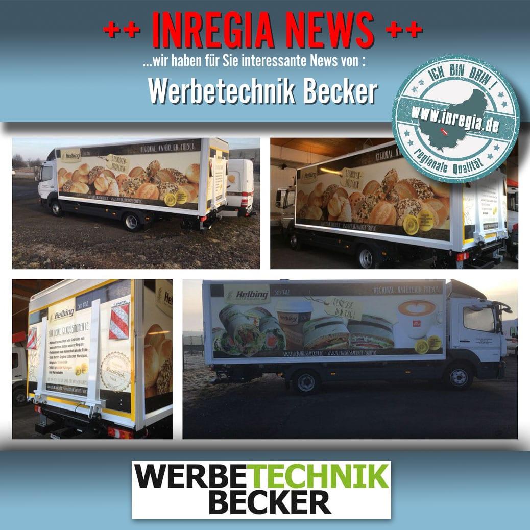 Werbebeschriftung Eichsfeld Werbetechnik Becker