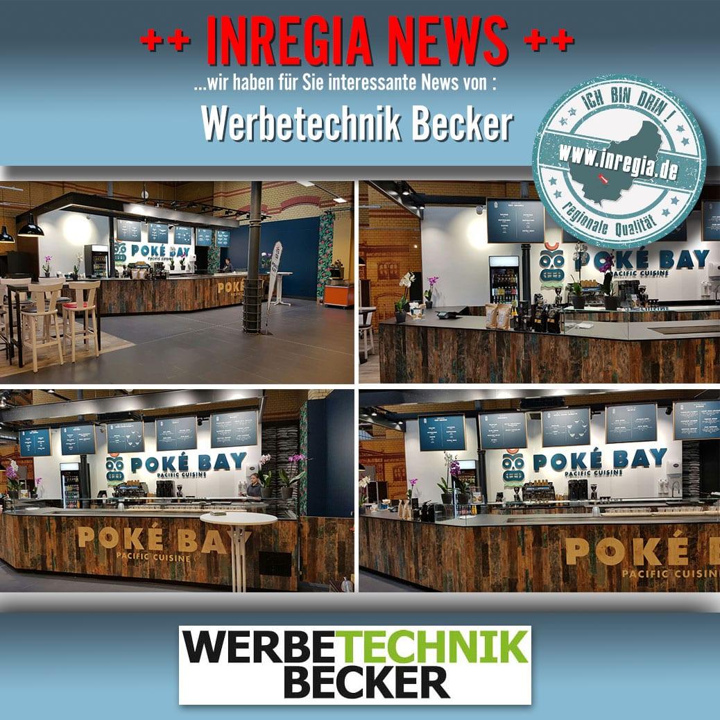 Becker Werbung Leinefelde Eichsfeld Werbetechnik Ladenbau Ladenwerbung