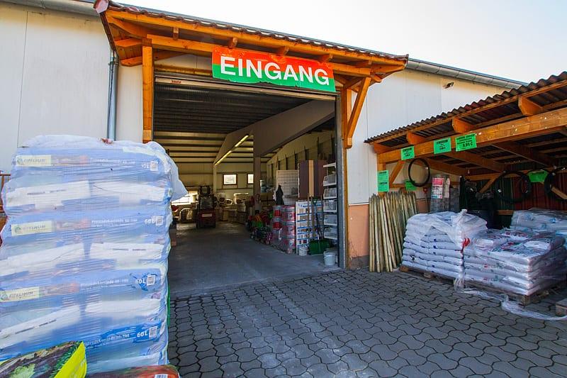 Raiffeisen Eichsfeld Baustoffe, Brennstoffe, Werkzeuge, Gartengeräte