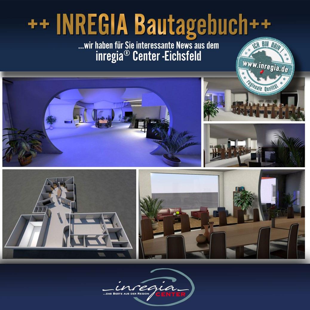 inregia bautagebuch eichsfelder ausstellung unternehmen firmen eichsfeld center