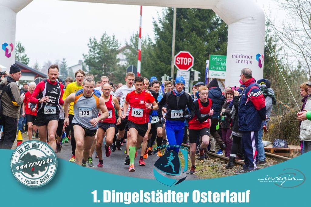 Dingelstädter Osterlauf kanonenbahn Dingelstädt laufen joggen LAC Ostern laufen