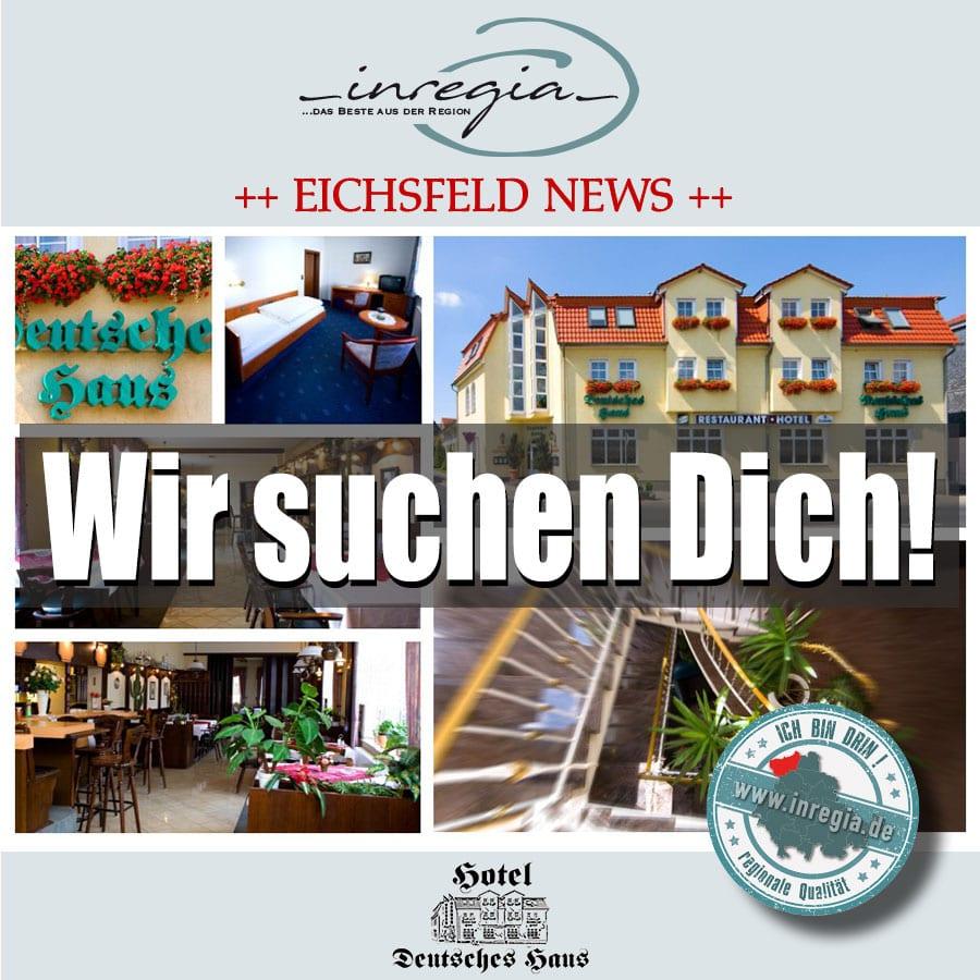 inregia eichsfelder unternehmen stellenangebote hotel deutsches haus dingelstädt