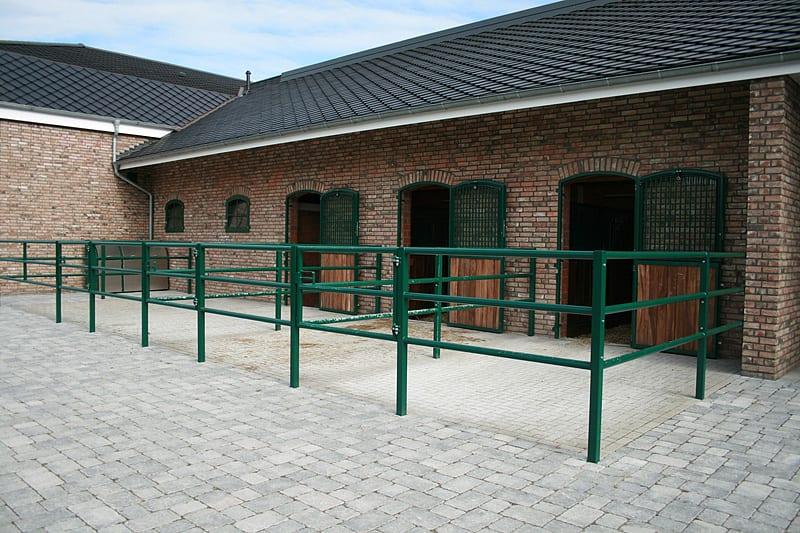 metallbau henkel paddockanlagen führanlagen aussenboxen stallanlagen pferdeboxen eichsfeld thüringen inregia