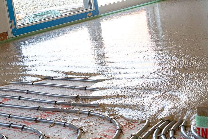 Anhydritfließestrich Zementestrich, aussenputz Außenputz Innenputz Sichtbeton Sichtestrich eichsfeld thüringen Effelder Bode Baudienstleistungen inregia