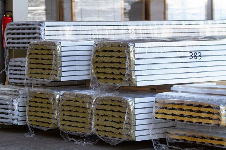 sunlline Hallenheizung Deckenstrahlplatten kühlsegel kühldecke inregia eichsfeld