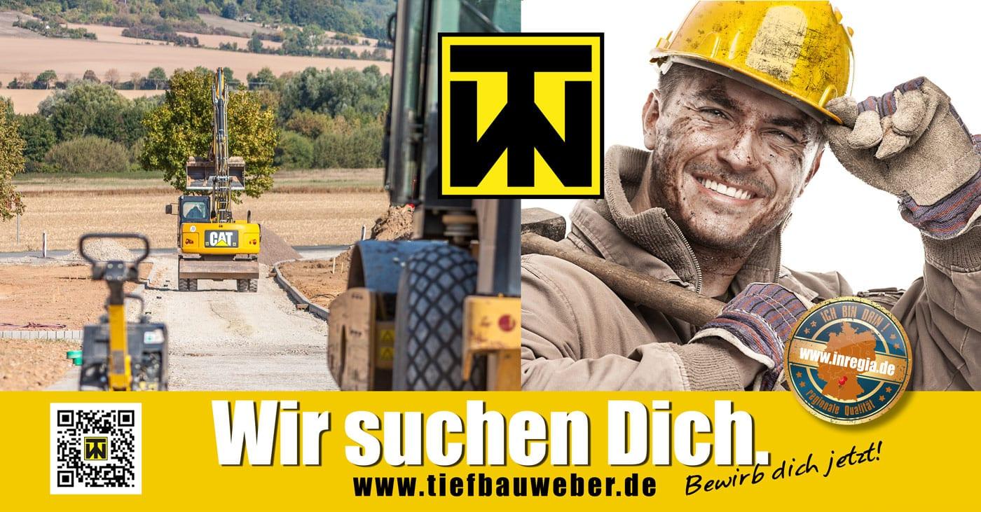 Tiefbau Weber Erdarbeiten Tiefbau Eichsfeld Straßenbau bitumdecke Eichsfeld Pflasterarbeiten
