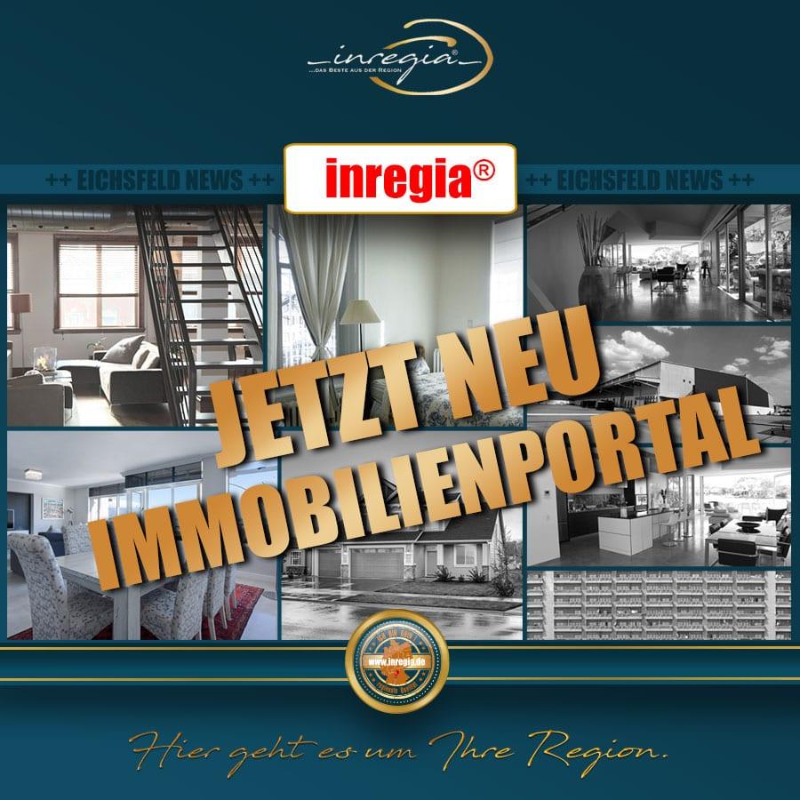 inregia Immobilien Immobilienportal Eichsfeld Thüringen wohnen Wohnungen Wohnung Haus Gewerbeimmobilien