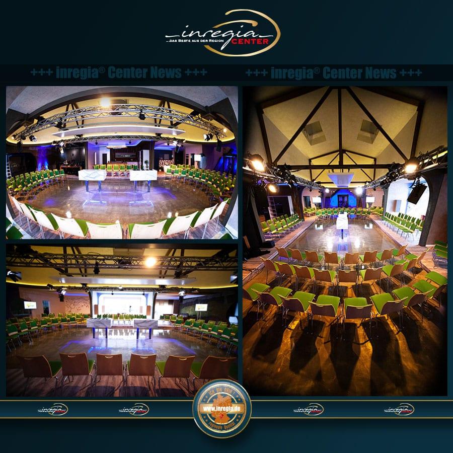 inregia center veranstaltungszentrum businessveranstaltungen location thüringen hochwertig tv talk vorträge