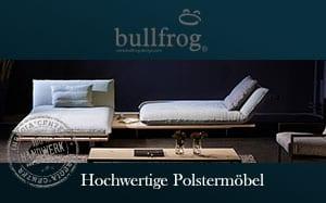 bullfrog möbel polstermöbel sitzmöbel wasserbüffelleder ledersessel edel exklusive polstermöbel inregia