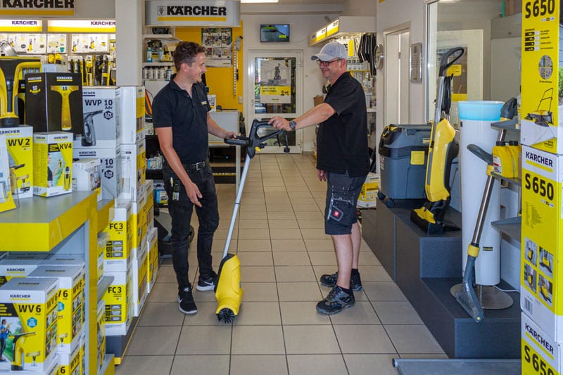 kärcher Heinemann leinefelde eichsfeld thüringen Reiningungsgeräte kärcher zubehör reinigungstechnik