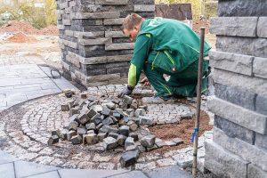 inregiacenter inregia Gartenausstellung Terrassenausstellung FCN Aussengestaltung Vogt Gartenbauer Gartenideen Pflasterarbeiten