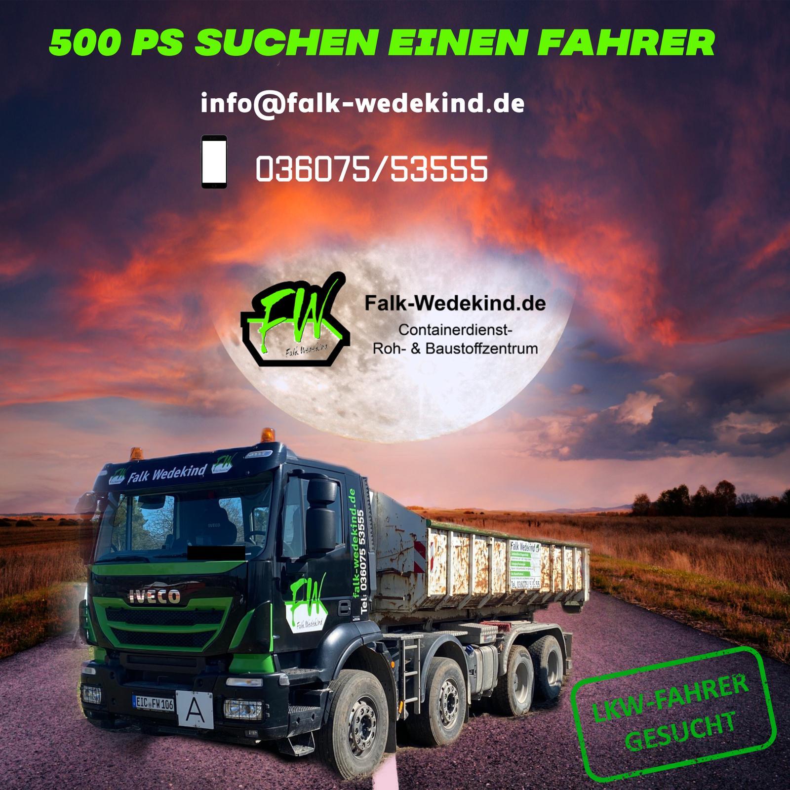 Falk Wedekind Containerdienst, Roh- & Baustoffzentrum