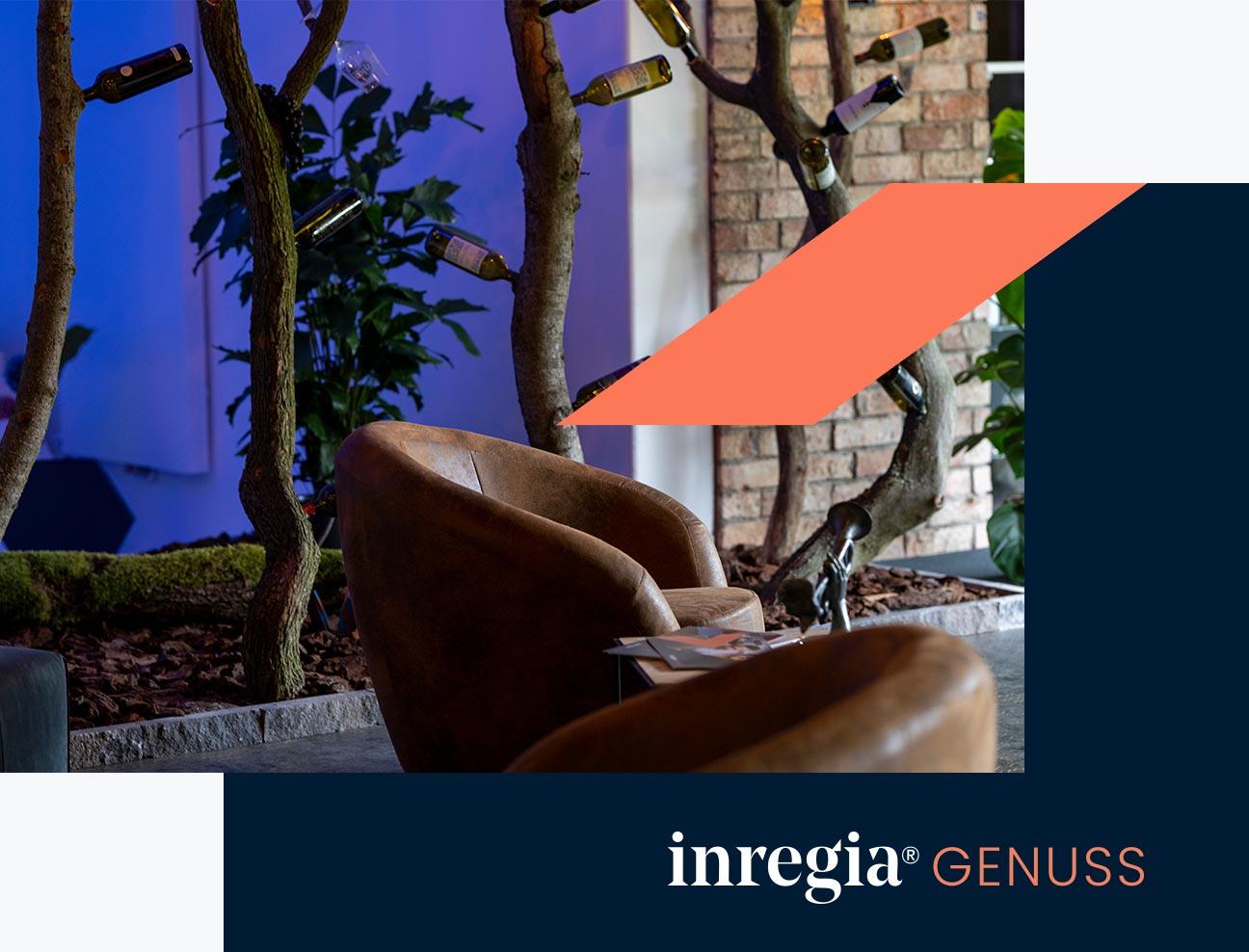 taste it inregia lounge genus regionale Produkte Genusslounge testen